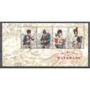 GB 2015 008 Bicentenary of the Battle of Waterloo - blok