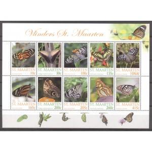 St. Maarten 2017 03 Vlinders