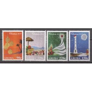 Aruba 2017 10 December zegels