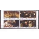 Aruba 2019 02 Rembrandt 350 jaar (persoonlijke zegels)
