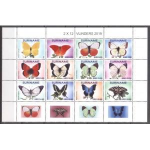 Suriname 2019 06 Vlinders