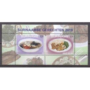 Suriname 2019 08 UPAEP: Eten
