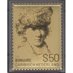 Caribisch Nederland 2019 05 Rembrandt gouden zegel