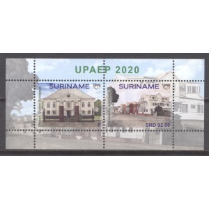Suriname 2020 09 UPAEP: Architecture Blok