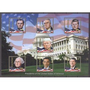 Curaçao 2020 06 Presidents of the United States