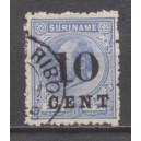 Suriname NVPH 032a gebruikt (scan A)