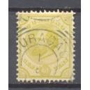 Curaçao NVPH 010 D gestempeld (scan A)