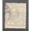 Suriname NVPH 001E gebruikt (scan A)