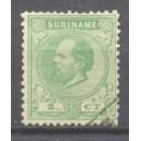 Suriname NVPH 004C gebruikt (scan A)