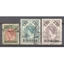 Suriname NVPH 034-036 gebruikt (scan B)