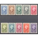 Suriname NVPH 229-238 postfris (scan A)
