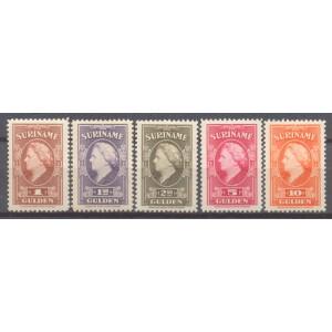 Suriname NVPH 239-243 ongebruikt (scan A)