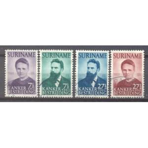 Suriname NVPH 280-283 gebruikt (scan A)