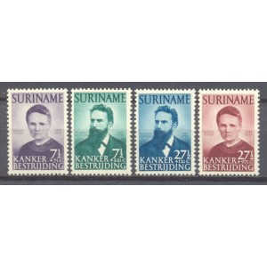 Suriname NVPH 280-283 postfris (scan A)
