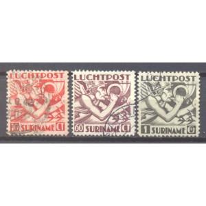 Suriname NVPH LP 20-22 gebruikt (scan A)