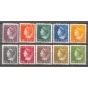 Curaçao NVPH 168/177 postfris (scan A)