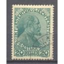 Liechtenstein Michel 010 gebruikt