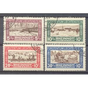 Liechtenstein Michel 078/081 gebruikt