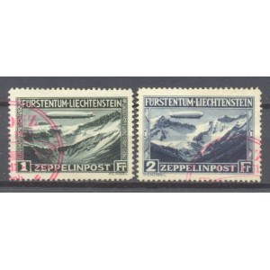 Liechtenstein Michel 114/115 gebruikt