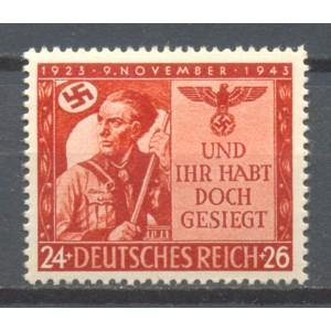 Duitse Rijk Michel 863 postfris (scan A)