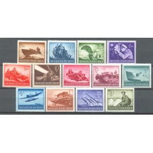 Duitse Rijk Michel 873/885 postfris (scan A)