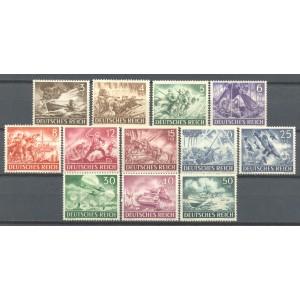 Duitse Rijk Michel 831/842 postfris (scan A)