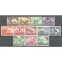 Duitse Rijk Michel 831/842 postfris (scan B)