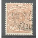 Luxemburg Michel 027 gestempeld